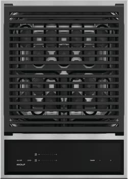 Wolf GM15TS - 15 Inch Built-In Grill Module from Wolf