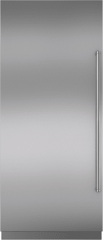 Sub-Zero IC36FILH - Shown with Stainless Steel Panel and Professional Handle (Sold Separately)