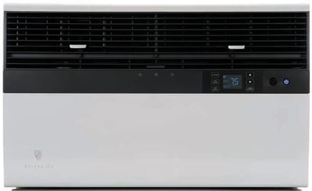 Friedrich Em18n34a 20 000 Btu Room Air Conditioner With 13 000 Btu Electric Heat 9 8 Eer R 410a Refrigerant 6 0 Pts Hr Dehumidification Carbon Filtration Lcd Remote And 230 208 Volts