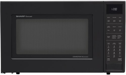 Sharp SMC1585BB - Sharp's 1.5 cu. ft. Convection Microwave Oven in Black