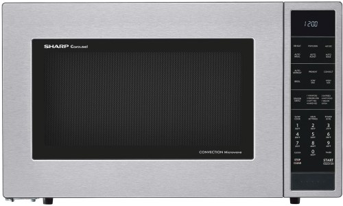 Sharp SMC1585B - Sharp's 1.5 cu. ft. Convection Microwave Oven in Stainless Steel