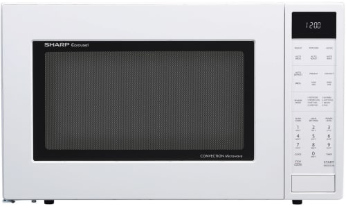 Sharp SMC1585BW - Sharp's 1.5 cu. ft. Convection Microwave Oven in White