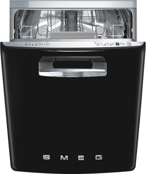 Smeg 50's Retro Design STFABUBL - SMEG Dishwasher in Black