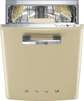 Smeg 50's Retro Design STFABUCR - SMEG Dishwasher in Cream Finish