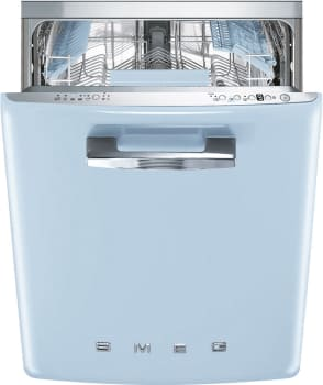 Smeg 50's Retro Design STFABUPB - SMEG Dishwasher in Pastel Blue