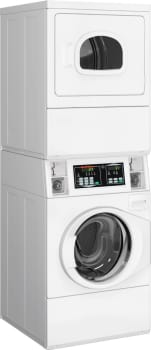 Speed Queen STGNCASP113TW01 - Stacked Gas Laundry Center from Speed Queen