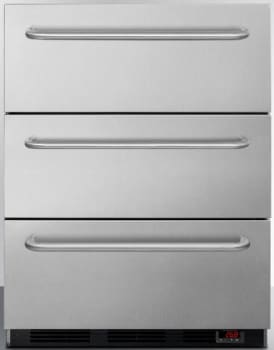 AccuCold SPF5DSSTB5ADA - 3-Drawer All-Freezer