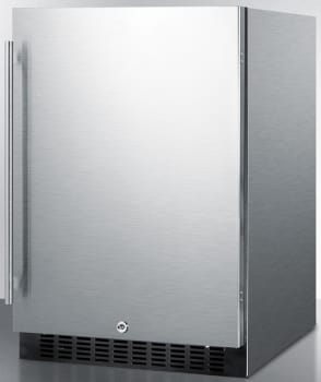 Summit SPR627OSCSS - Stainless Steel Cabinet, Pro Handle