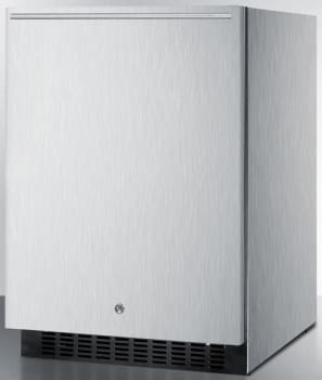 Summit SPR627OSCSSHH - Stainless Steel Cabinet, Horizontal Handle