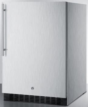 Summit SPR627OSCSSHV - Stainless Steel Cabinet, Thin Handle