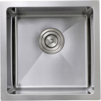 Nantucket Sinks Pro Series SR1515 - Top View