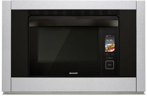 "Sharp SuperSteam Oven SSC3088AS - Sharp's 30"" SuperSteam+ Combination Steam and Convection Wall Oven"