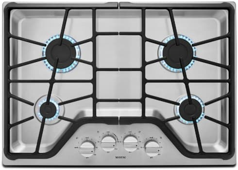 Maytag MGC7430DS - Rangetop Front View
