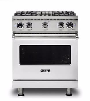 Viking Professional 5 Series VGR5304B - Stainless Steel Front View
