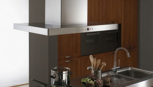 Faber Designer Collection STILIS48SS - Stilo Isola Island Chimney Hood