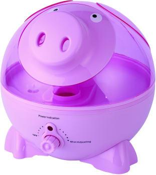 Sunpentown SU3751 - Pink Pig Ultrasonic Humidifier