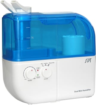 Sunpentown SU4010 - Dual Mist Humidifier with Ion Exchange Filter in Blue