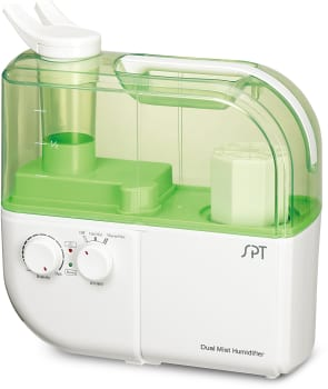 Sunpentown SU4010G - Dual Mist Humidifier with Ion Exchange Filter in Green