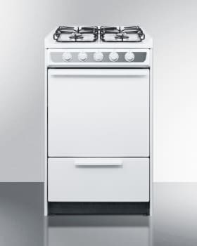 Summit WTM1107SRT - 20 Inch Gas Range from Summit