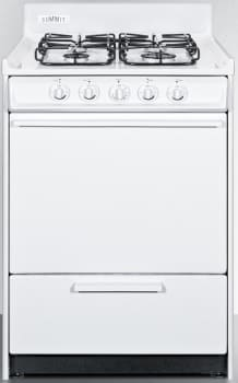 Summit WTM6107S - 24 Inch SUMMIT Gas Range