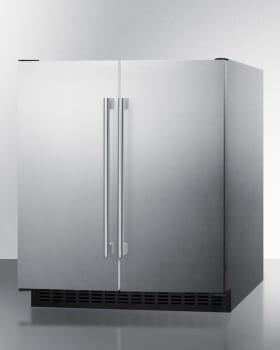 Summit FFRF3075WCSS - FFRF3075WCSS - Stainless Steel Cabinet