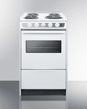 Summit WEM110WRT - 20 Inch Electric Range from SUMMIT