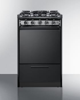 Summit TTM1107CSRT - Slim 20 Inch Slide-In Gas Range