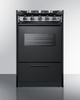 Summit TTM1107CSWRT - Slim 20 Inch Slide-In Gas Range