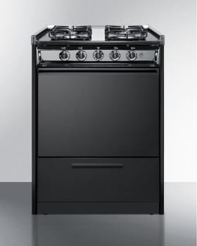 Summit TTM6107CSRT - Slide-In Gas Range from SUMMIT