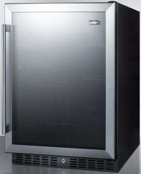 Summit AL57G - SUMMIT Glass Door Undercounter Refrigerator
