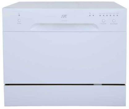 Sunpentown SD2213W - White Front View