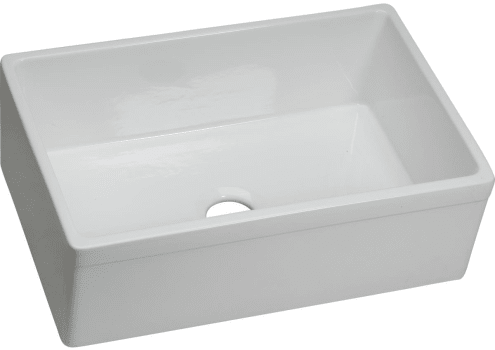 Elkay SWUF28179WH 30 Inch Single Bowl Undermount Farmhouse Kitchen on corner farm sinks for kitchens, two sinks for kitchens, wall mount farm sinks for kitchens, cast iron farm sinks for kitchens, apron sinks for kitchens, lowe's farm sinks for kitchens, white farm sinks for kitchens, composite farm sinks for kitchens, kohler farm sinks for kitchens, double farm sinks for kitchens, bathroom farm sinks for kitchens, antique farm sinks for kitchens,