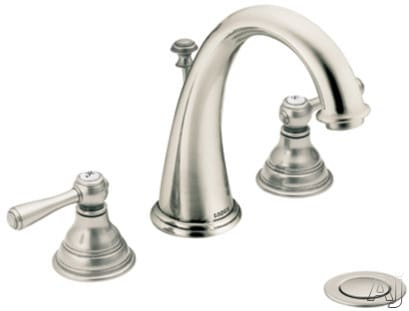 Moen Kingsley T6125AN - Antique Nickel