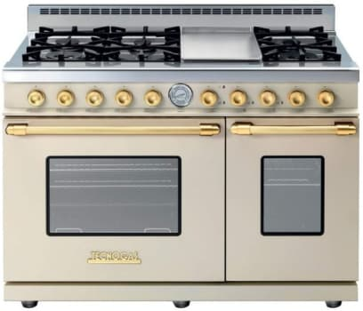 Tecnogas Superiore Deco Series RD482GCCG - Cream Range with Gold Accents
