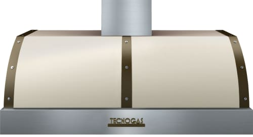 Tecnogas Superiore Deco Series HD481BTCB - Cream DECO Hood with Bronze Accents