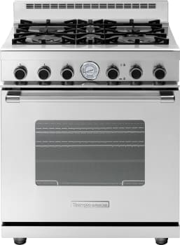 Tecnogas Superiore Next Classic Series RN301GCSSL - Tecnogas 4-Burner Gas Range with Classic Door Design