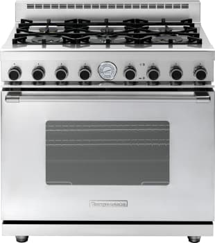 Tecnogas Superiore Next Classic Series RN361GCSS - Tecnogas 6-Burner Gas Range with Classic Door Design