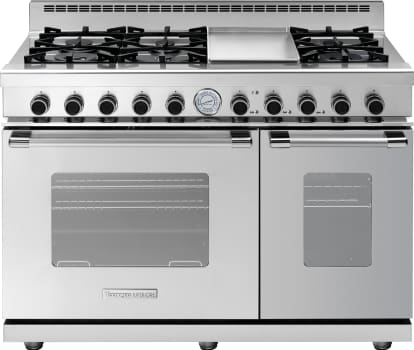 Tecnogas Superiore Next Classic Series RN482GCSS - 6-Burner Gas Range with Classic Door Design