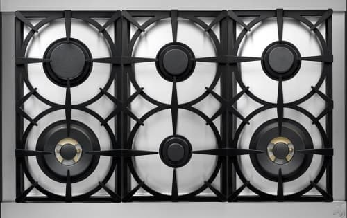 Tecnogas Superiore Deco Series RD361GCMB - ecnogas DECO Cooktop with 6 Sealed Gas Burners