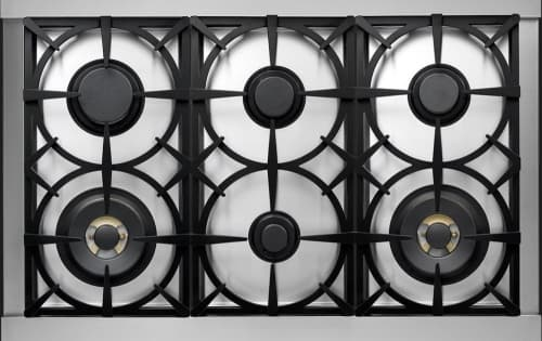 Tecnogas Superiore Deco Series RD361GCCG - Tecnogas DECO Cooktop with 6 Sealed Gas Burners
