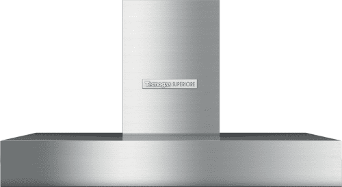Tecnogas Superiore Next Series HN481BSS - 36 Inch Wall Mount Hood with 600 CFM Air Circulation