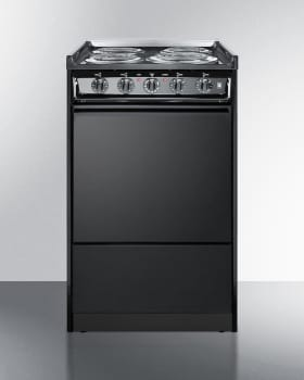 Summit TEM110CRT - Slim 20 Inch Slide-In Electric Range