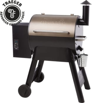 Traeger Pro Series TFB57P - Traeger's Pro Series 22 Wood Pellet Grill in Bronze
