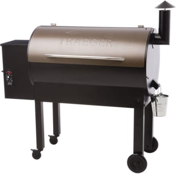 Traeger Texas Elite TFB65LZB - Traeger's Texas Elite 34 Wood Pellet Grill in Bronze