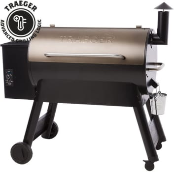 Traeger Pro Series TFB88P - Traeger's Pro Series 34 Wood Pellet Grill in Bronze