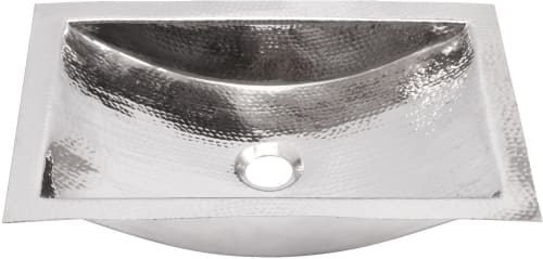 Nantucket Sinks Trs 20 Inch Hand Hammered Rectangle Undermount