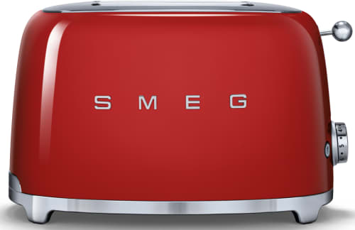 Smeg TSF01RDUS Countertop Toaster with 2 Slice Capacity Defrost