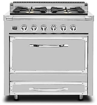 "Viking Tuscany Series TVDR3604BSS - 36"" Tuscany Range in Stainless Steel"