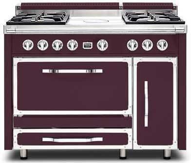 Viking Tuscany Series TVDR4804FBX - Bordeaux Front View