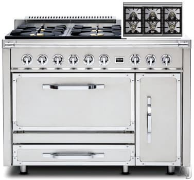 Viking Tuscany Series TVDR4806B - Stainless Steel
